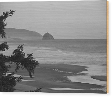 Wood Print featuring the photograph Cape Kiwanda by Angi Parks