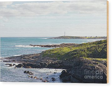 Wood Print featuring the photograph Cape Leeuwin Lighthouse by Ivy Ho