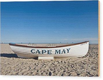 Cape May Wood Print by John Greim