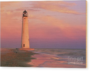 Cape Saint George Lighthouse - Fs000117 Wood Print