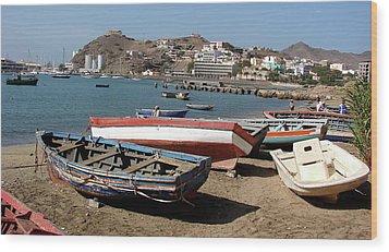 Cape Verde Wood Print