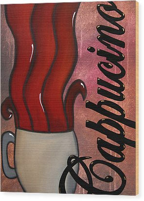 Cappucino Wood Print by Tom Fedro - Fidostudio