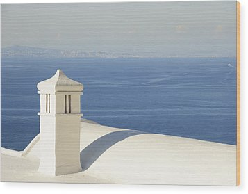 Wood Print featuring the photograph Capri by Silvia Bruno