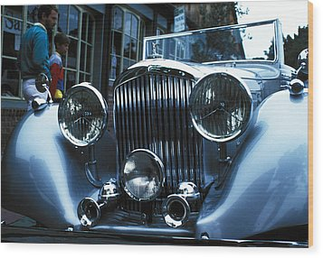 Car Envy Wood Print by Carl Purcell
