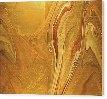 Caramel Delight Wood Print by Patrick Mock