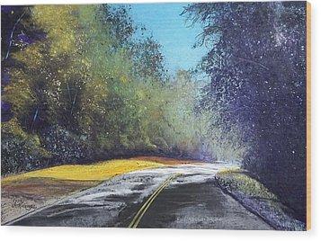 Carefree Highway Wood Print