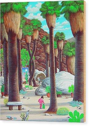 Caretaker Wood Print by Snake Jagger