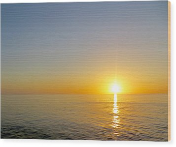 Caribbean Sunset Wood Print