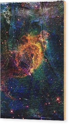 Carina Nebula Wood Print by Andrea Barbieri