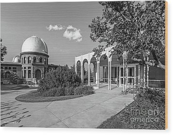 Carleton College Goodsell Observatory Wood Print by University Icons