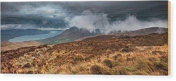 Carlingford Lough Wood Print