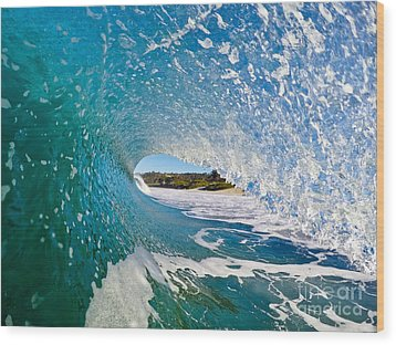 Wood Print featuring the photograph Carmel Blues by Paul Topp
