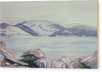 Carmel, California Wood Print