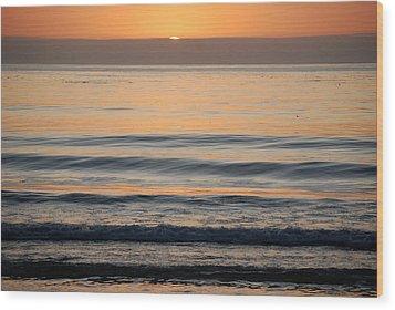 Carmel Sunset Wood Print by Harvey Barrison