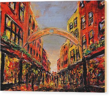 Carnaby Street London Wood Print