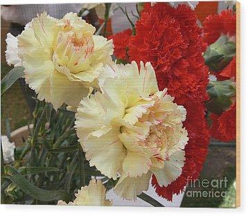 Carnation 3 Wood Print