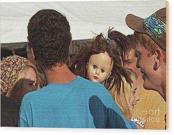 Wood Print featuring the photograph Carnival Adoption by Joe Jake Pratt