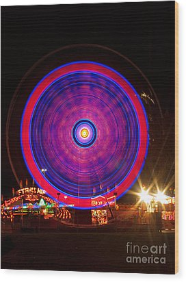 Carnival Hypnosis Wood Print by James BO  Insogna