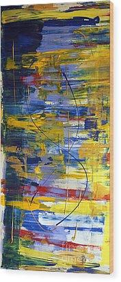 Carnival II Wood Print