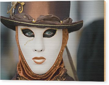 Wood Print featuring the photograph Carnival In Brown by Stefan Nielsen