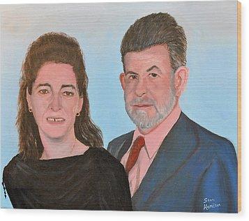 Carol And Max Wood Print