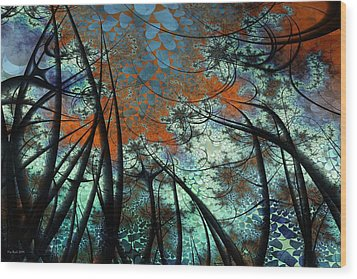 Carr1 Wood Print by Kim Redd