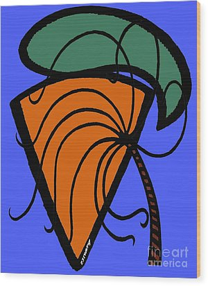 Carrot And Stick Wood Print by Patrick J Murphy