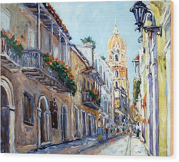 Cartagena Colombia Wood Print