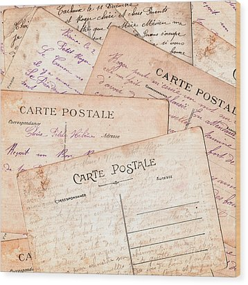 Cartes Postales Wood Print by Delphimages Photo Creations