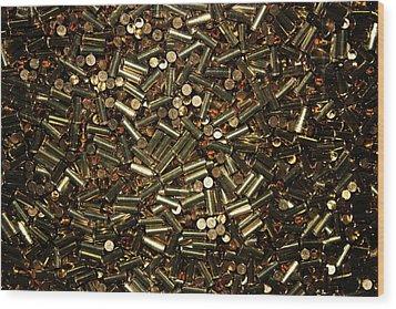Cartridges Wood Print by Kristin Elmquist