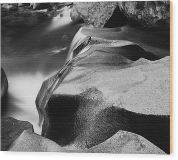 Wood Print featuring the photograph Cascade by Allan McConnell