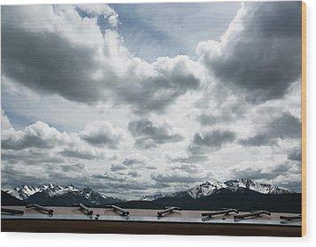 Wood Print featuring the photograph Cascade Outlook Manning Provincial Park by Elvira Butler