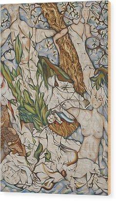 Case Of Forest Wood Print by Turgay Denizel