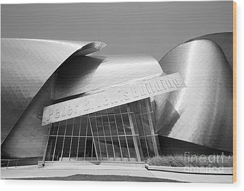 Case Western Reserve University Lewis Building Wood Print by University Icons