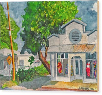 Caseys Place Wood Print by Eric Samuelson