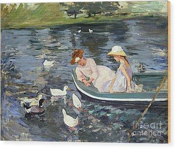 Cassatt: Summertime, 1894 Wood Print by Granger