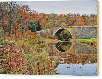 Casselman River Bridge Wood Print