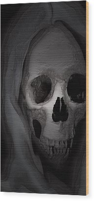 Cast In Bone Wood Print by Jean Gugliuzza