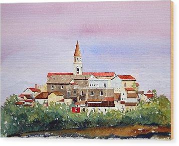 Castelnuovo Della Daunia Wood Print