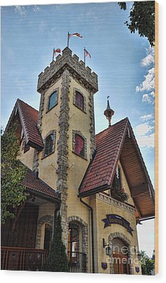 Castle Frankenmuth Wood Print by Chris Fleming