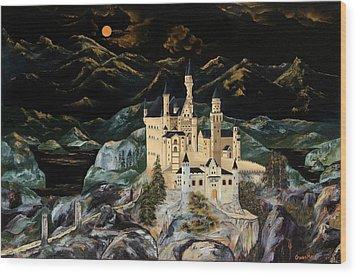 Castle Wood Print by Gwen Rose