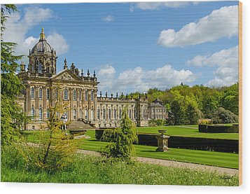 Castle Howard Wood Print