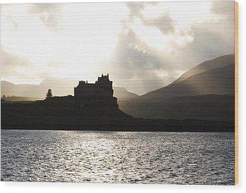Castle On Scotland's Inner Hebridean Islands Wood Print by Kelsey Horne
