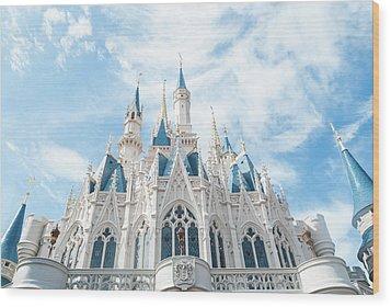 Castle Sky Wood Print