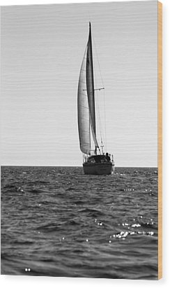 Catalina 27 Wood Print by Brad Scott
