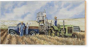 Catesby Cuttin' 1938 Wood Print