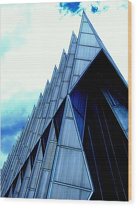 Wood Print featuring the photograph Cathedral 2 by Antonia Citrino