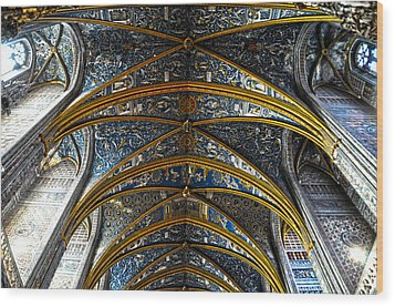 Cathedral Albi Wood Print