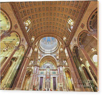 Cathedral Of St. Matthew Viii Wood Print by Irene Abdou