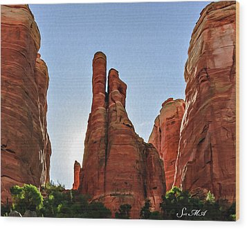 Cathedral Rock 05-155 Wood Print